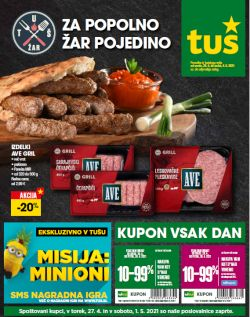 Tuš katalog trgovine in franšize do 4. 5.