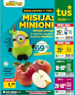 Tuš katalog trgovine in franšize do 13. 4.