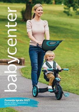 Baby Center katalog Zunanja igrala 2021