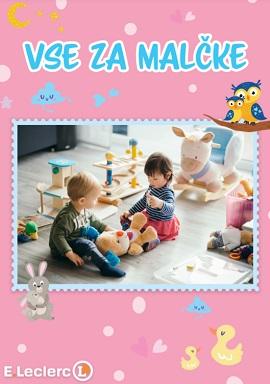 E Leclerc katalog Vse za malčke