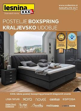 Lesnina katalog Boxspring postelje