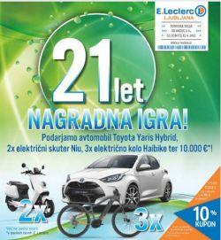E Leclerc katalog Ljubljana do 12. 6.