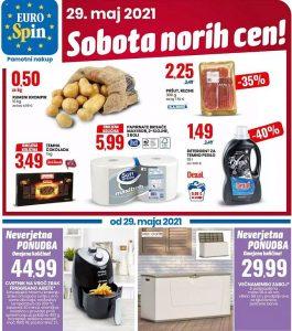 Eurospin akcija Sobota norih cen 29. 5.