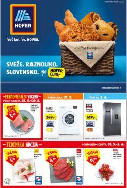 Hofer katalog od 28. 5.