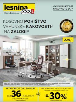 Lesnina katalog Kosovno pohištvo