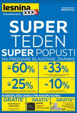 Lesnina katalog Super teden do 31. 5.