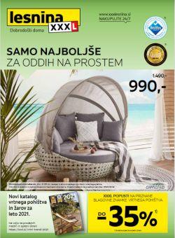 Lesnina katalog Oddih na prostem do 19. 6.