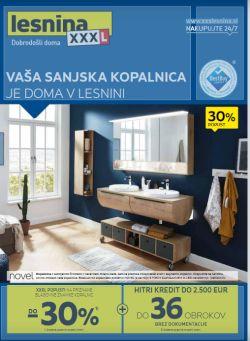 Lesnina katalog Vaša sanjska kopalnica do 19. 6.