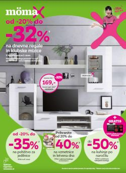 Momax katalog – 20 do – 32 % na dnevne regale
