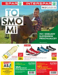 Spar in Interspar katalog do 25. 5.