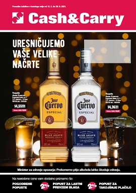 Mercator katalog Cash & Carry alkohol