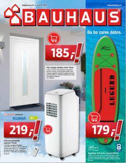 Bauhaus katalog julij 2021