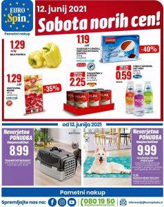Eurospin akcija Sobota norih cen 12. 6.