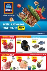 Hofer katalog od 11. 6.