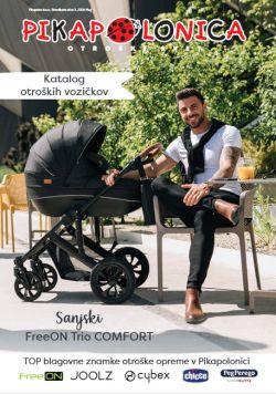Pikapolonica katalog Otroški vozički