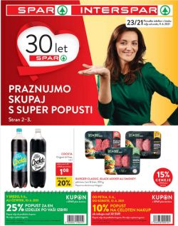 Spar in Interspar katalog do 22. 6.
