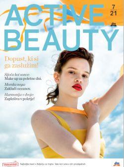 DM katalog Revija Active Beauty julij