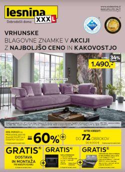 Lesnina katalog Najboljša kakovost in cena