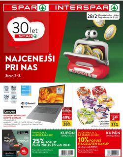 Spar in Interspar katalog do 27. 7.