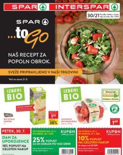 Spar in Interspar katalog do 10. 8.