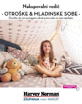 Harvey Norman katalog Otroške in mladinske sobe