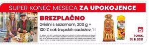 Eurospin akcija za upokojence 31. 8.