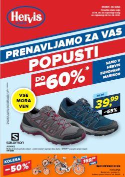 Hervis katalog Europark Maribor do 24. 8.