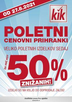 KIK katalog Poletni cenovni prihranki