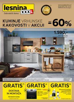 Lesnina katalog Kuhinje vrhunske kakovosti do 28. 8.