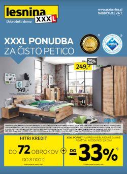 Lesnina katalog XXL ponudba do 28. 8.