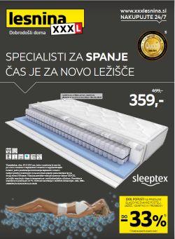 Lesnina katalog Specialisti za spanje do 18. 9.