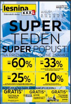 Lesnina katalog Super teden do 15. 8.