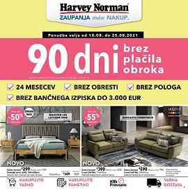 Harvey Norman katalog do 25.8.