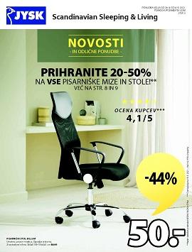 JYSK katalog Novosti