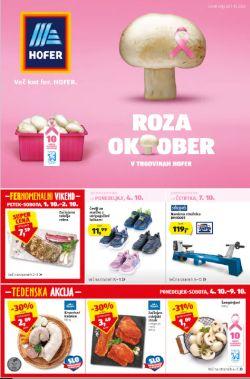 Hofer katalog od 1. 10.