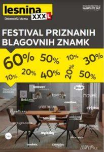 Lesnina katalog Festival priznanih blagovnih znamk