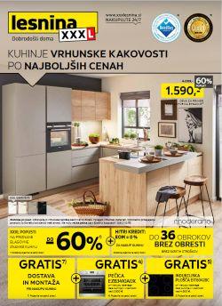 Lesnina katalog Kuhinje vrhunske kakovosti