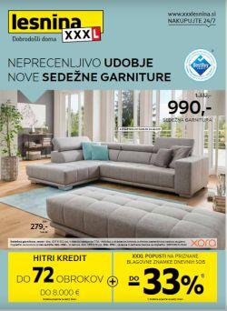 Lesnina katalog Sedežne garniture do 20. 10.