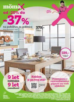 Momax katalog Pohištvo za jedilnice do 20. 10.