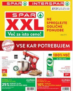 Spar in Interspar katalog do 28. 9.