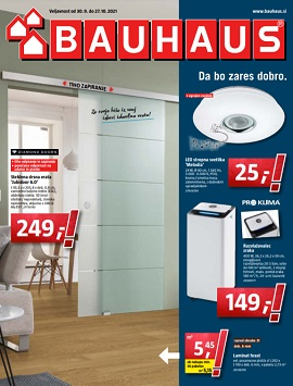 Bauhaus katalog oktober 2021
