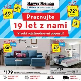Harvey Norman katalog Praznujte 19 let z nami