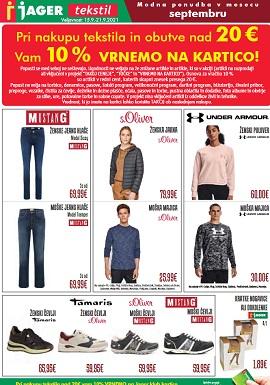 Jager katalog tekstil do 21.9.
