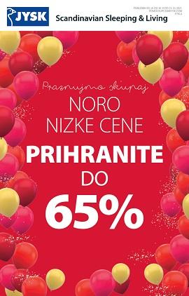 JYSK katalog Prihranite do 65%