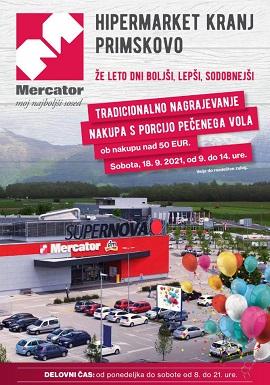 Mercator katalog Hipermarket Kranj Primskovo