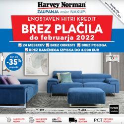 Harvey Norman katalog Oprema doma do 2. 11.