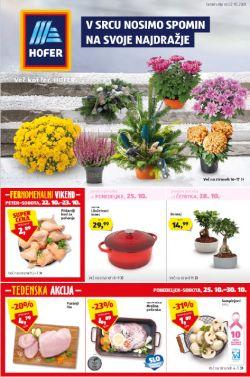 Hofer katalog od 22. 10.