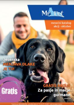 Mr Pet katalog oktober 2021