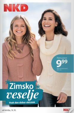 NKD katalog Zimsko veselje od 14. 10.