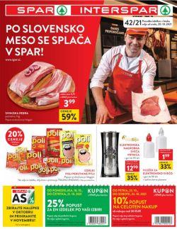 Spar in Interspar katalog do 2. 11.